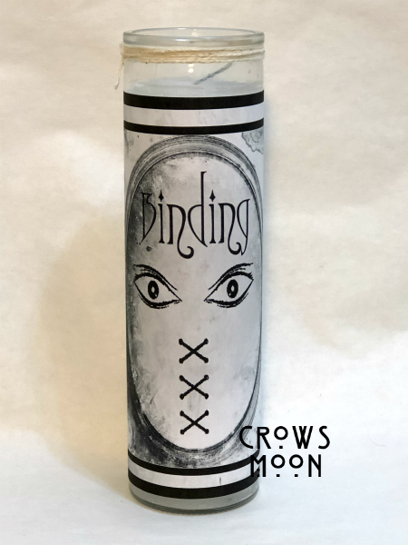 Binding Fixed Conjure Candle | CrowsMoon.com