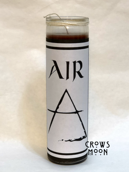 Element Of Air Fixed Witchcraft Candle | CrowsMoon.com