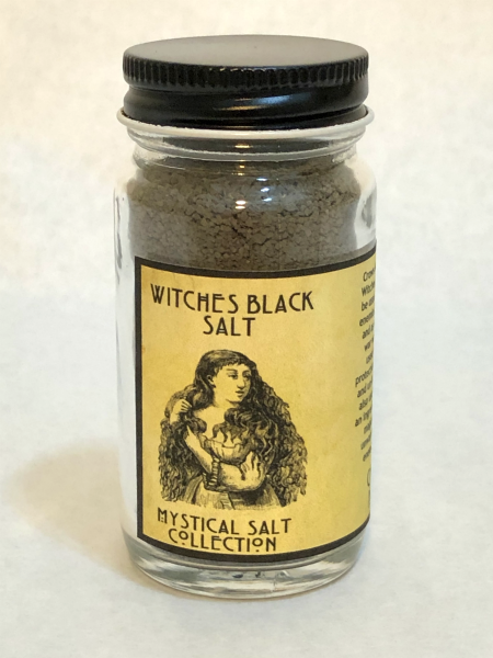 Witches Black Salt | CrowsMoon.com